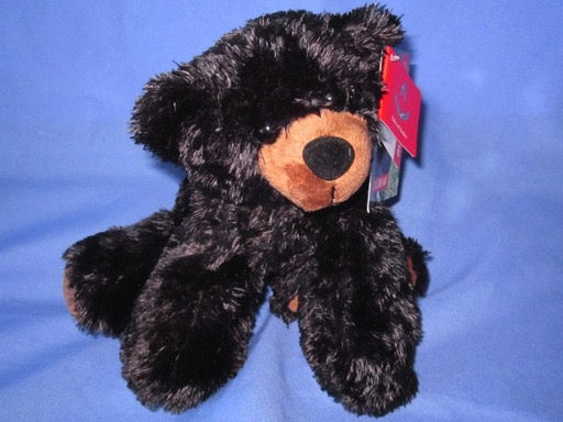 Sullivan Black Bear Mini Flopsie