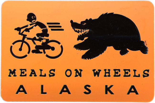 Meals on Wheels Magnet