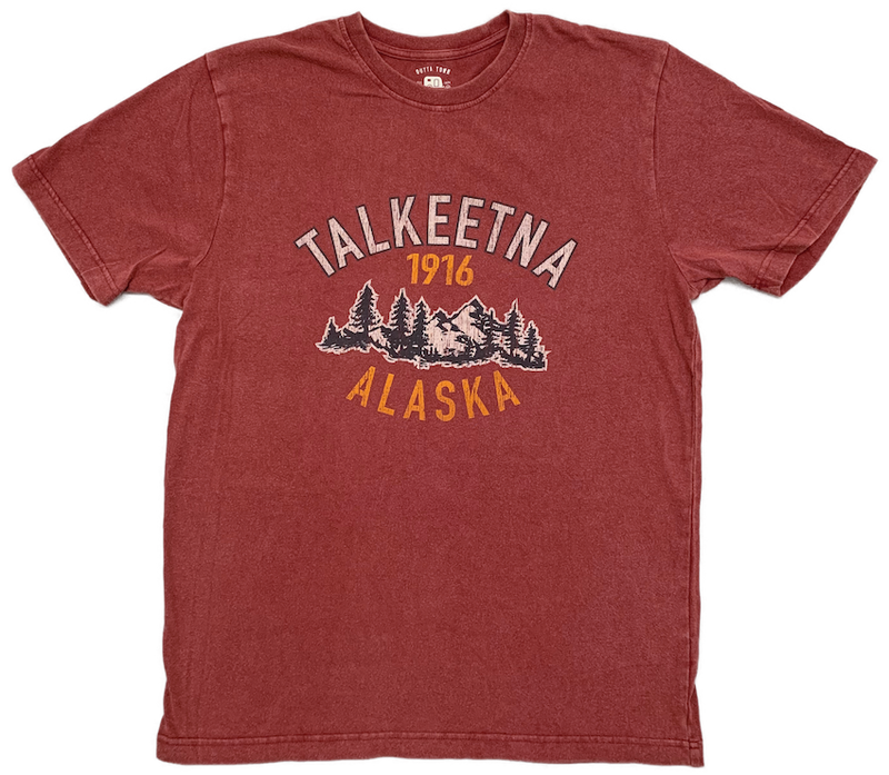 Talkeetna Alaska 1916 T-shirt
