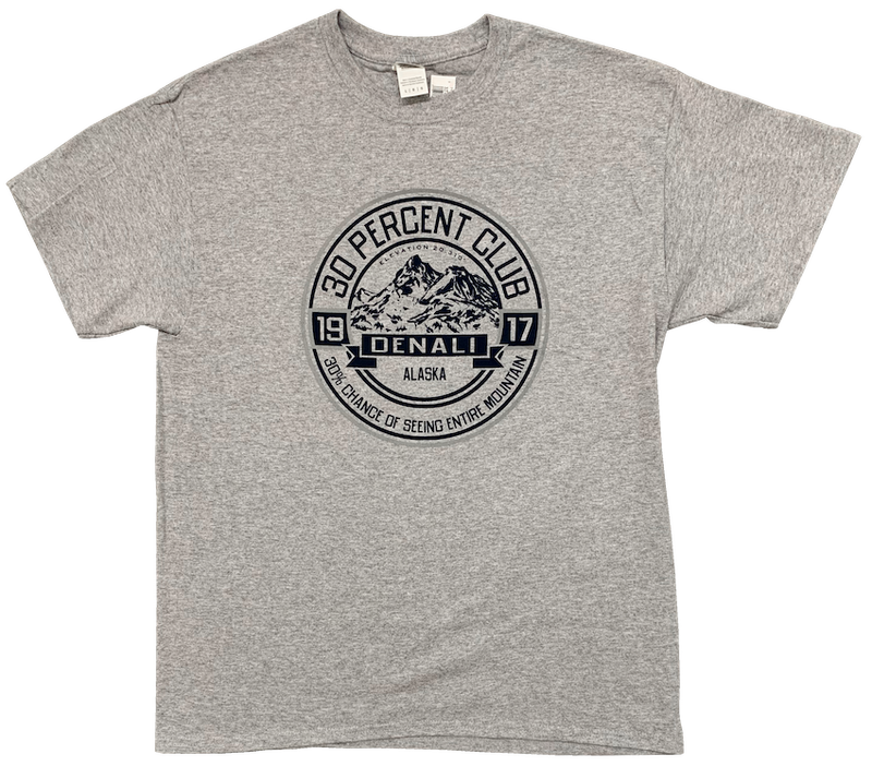 30% Club Denali Alaska T-shirt