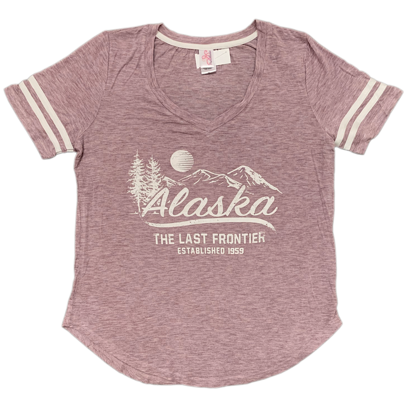 Splendid Mountain Alaska Ladies T-shirt