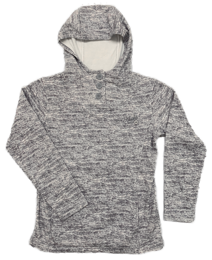Alaska 3 Button Ladies Hoodie