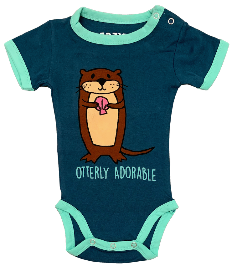 Otterly Adorable Alaska Onesie