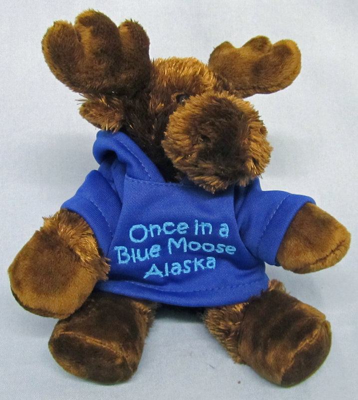 Alces Browser Moose With Hoodie