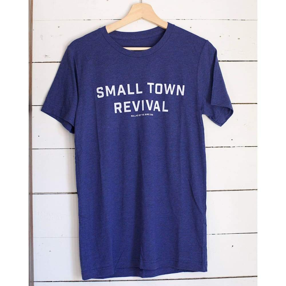 Shop Shirt | Small Town Revival | Ballad of the Bird Dog - Navy / Small - Apparel - Apparel - Ballad of the Bird Dog - Classic - Navy /