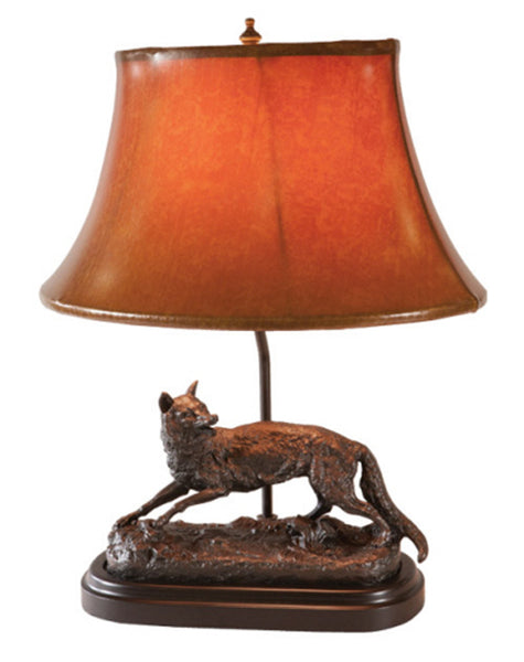 Classic Fox in the Wild Lamp