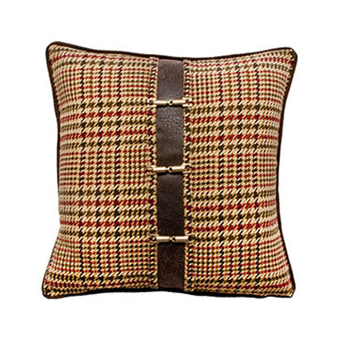 Huntington Plaid Pillow