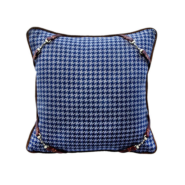 Kerry Ink Snaffle Bit Pillow