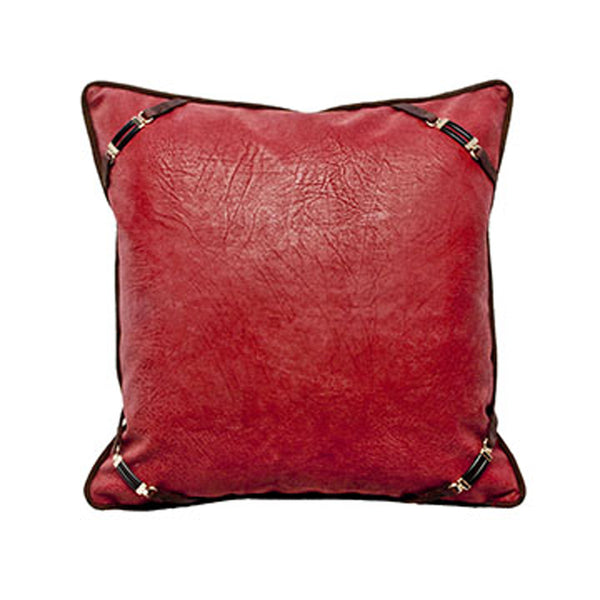 Ranger Red Snaffle Bit Pillow