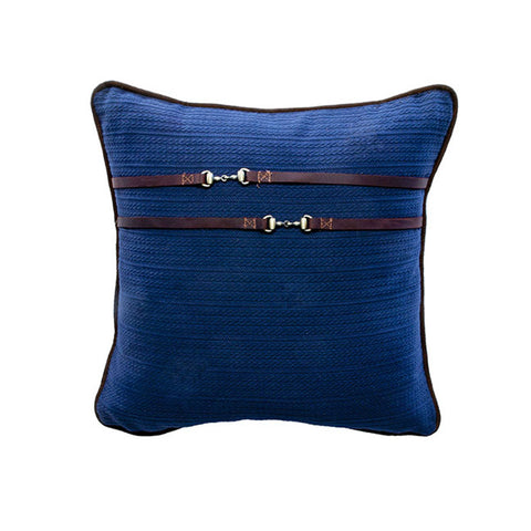 Cardigan Navy Pillow