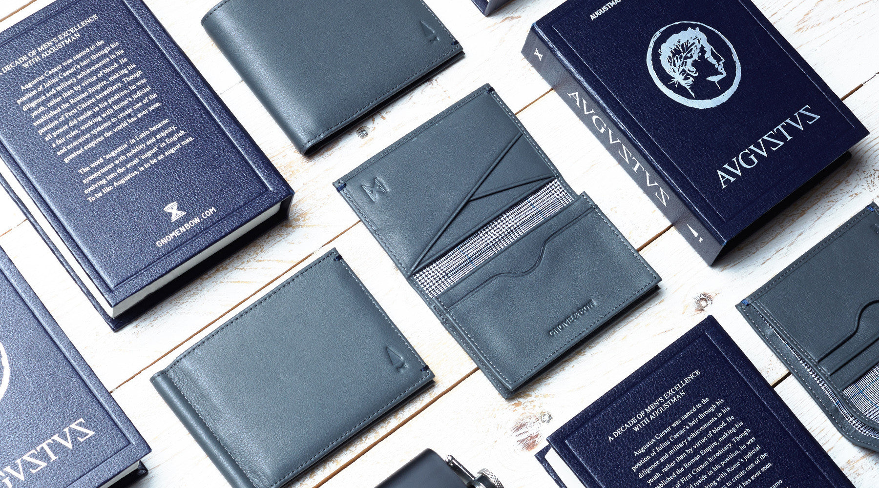8th Aug | (AW16) August Man x Gnome & Bow present AUGUSTUS: A limited edition wallet collection