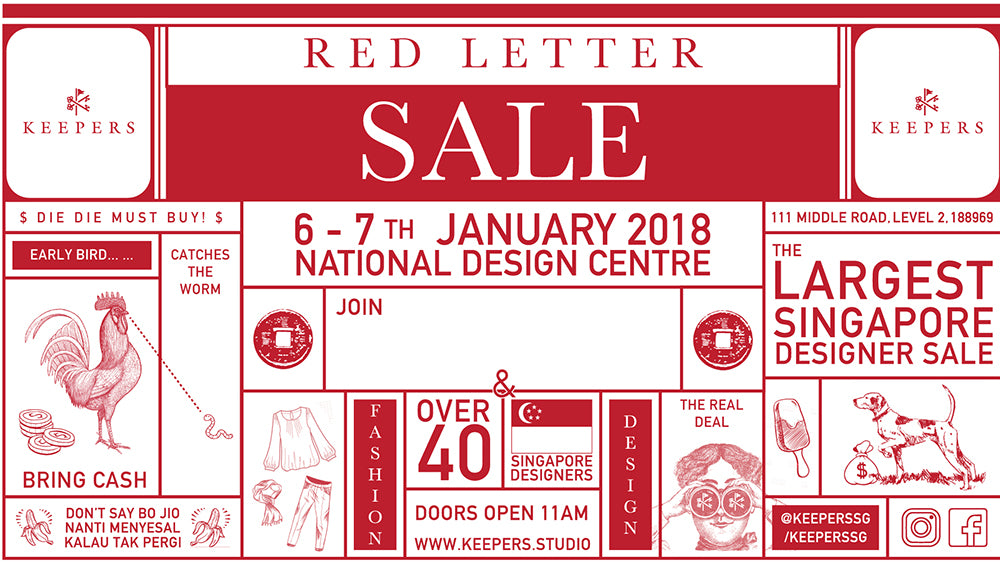 6th Jan | Get Huge Discounts on Local Apparel at the Singapore Designer Sale this Weekend (Her World)