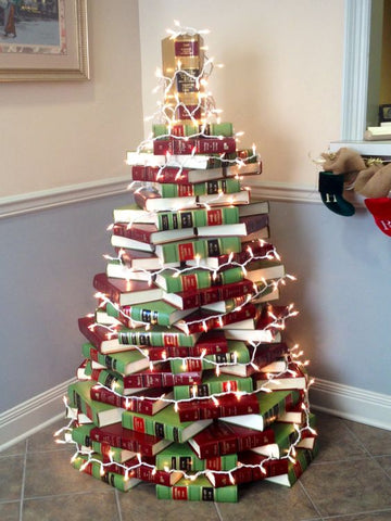 BUILD - Book Christmas Tree