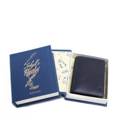 Brighton Leather Storytelling Card Wallet Singapore Local Designer