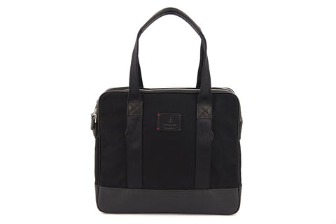Castor Tote in Jet Black
