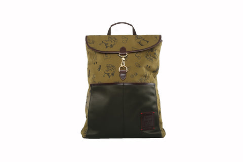 Clifford Backpack in Olive Maverick (Reversible)