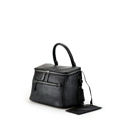 dryna-handbag-black leather