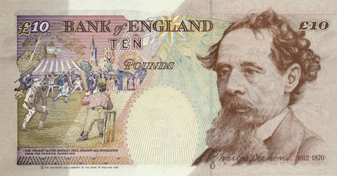 England 10 Pound Sterling note