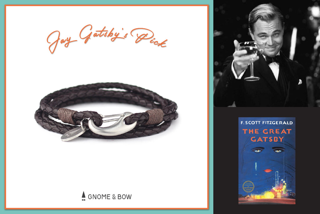 Gnome & Bow Storybook Inspired Personalised Leather Goods-Fathers-Day-Gifts-Ralph Braid Bracelet-Jay Gatsby