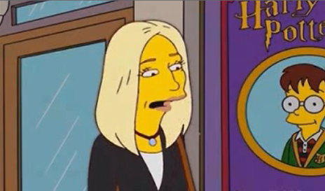 J.K. Rowling on The Simpsons in 2003