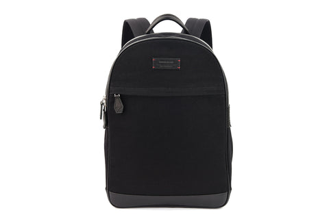 Kale Backpack in Jet Black