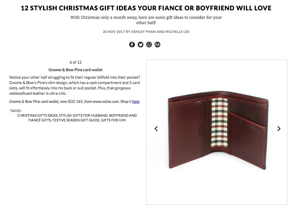 12 STYLISH CHRISTMAS GIFT IDEAS YOUR FIANCE OR BOYFRIEND WILL LOVE