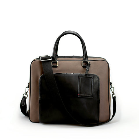 Porthos Briefcase | Taupe