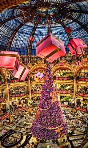 SEE - Gallaries Lafayette - Christmas Tree Lights