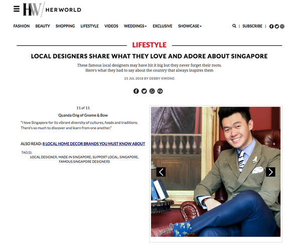 World's First Storytelling Leather Formal Bags and Wallets Singapore Local Designer