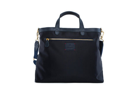 Strand Briefcase in Midnight Blue (Reversible)
