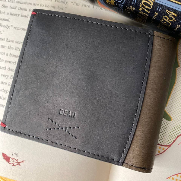 Treville Bifold Wallet Leather Personalised