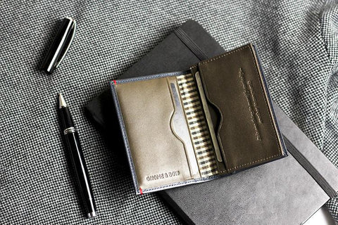 warren leather card holder
