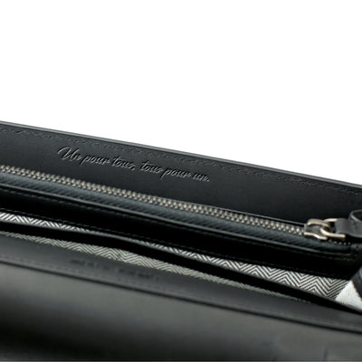 Milady Continental Wallet | Black