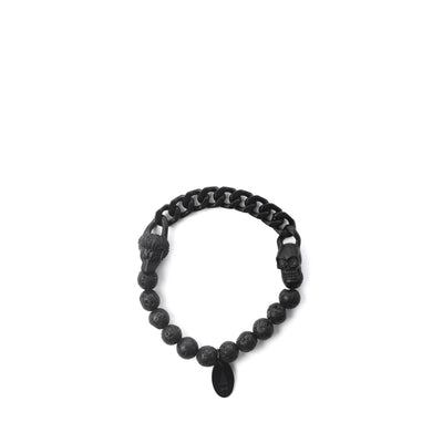 The Lionskull stainless steel black hardware with matt finish speaks of your innate duality.