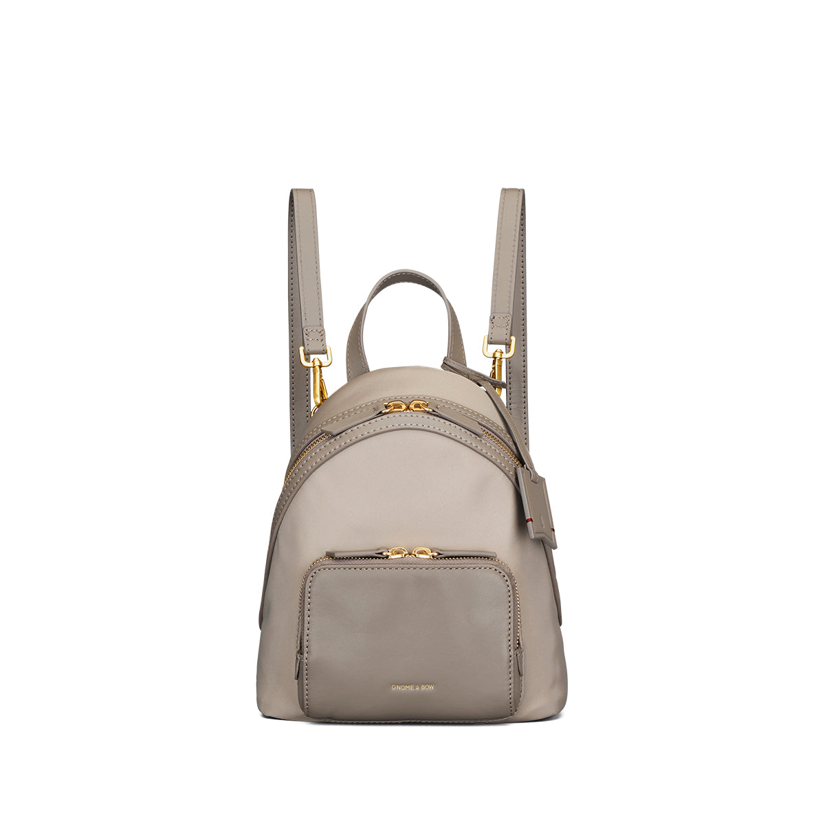 Athos Small Backpack (Nylon Leather)
