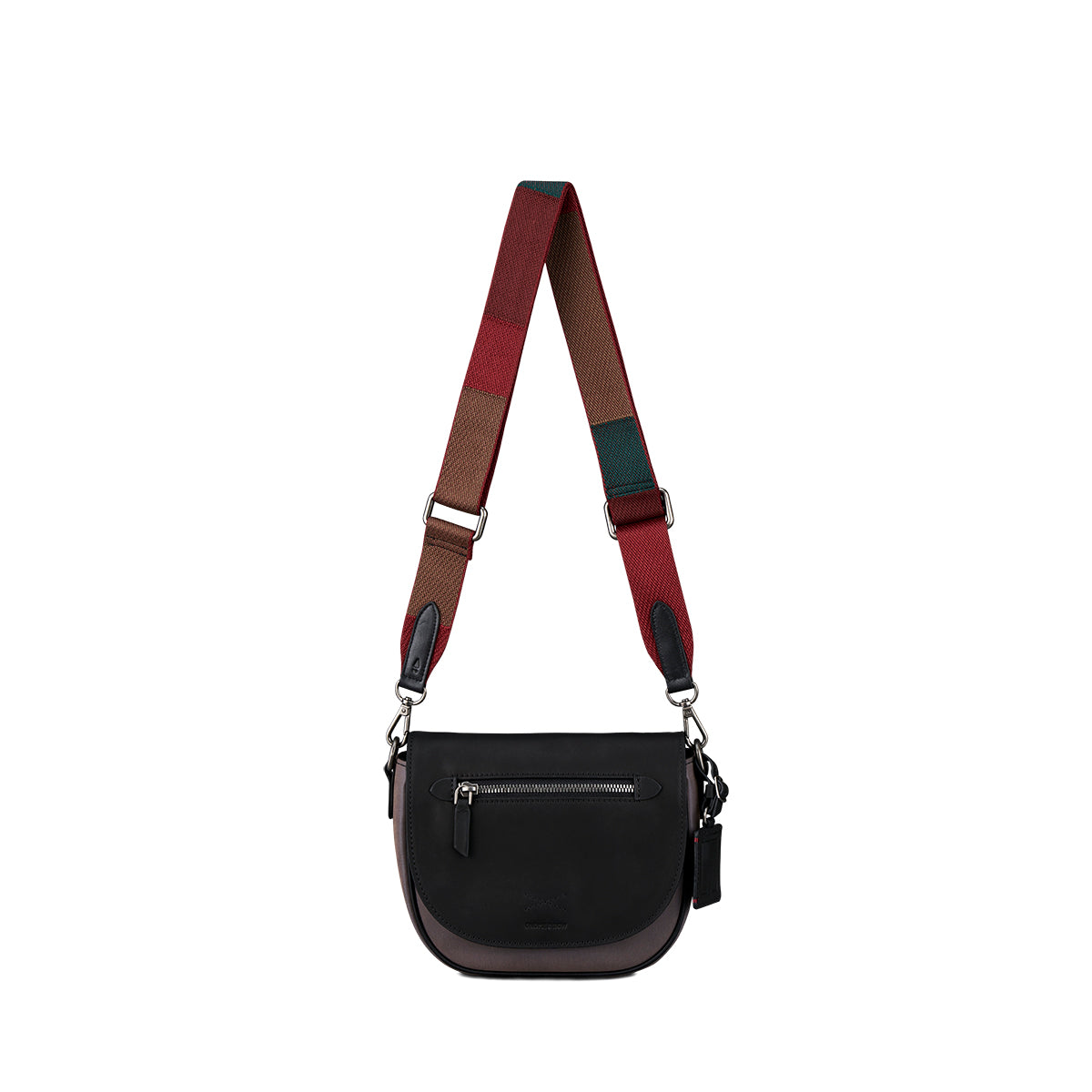 Colour Block Webbing Bag Strap