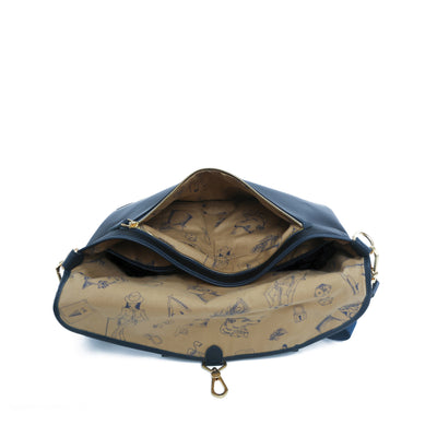 Kensington Messenger (Reversible) - Gnome & Bow
