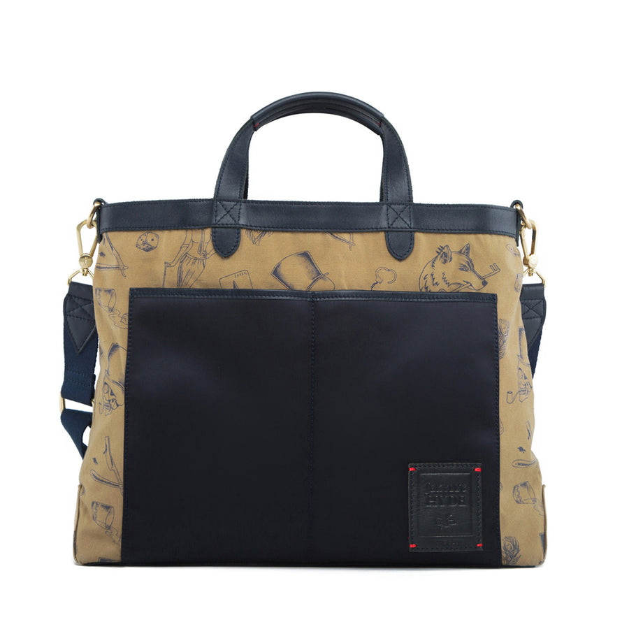 STRAND BRIEFCASE | Midnight Blue (Reversible)