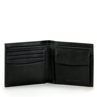 The natural amalgamation of functionality and style, the Treville leather coin billfold fits al your essentials with refined proportions. Limited Quantities.