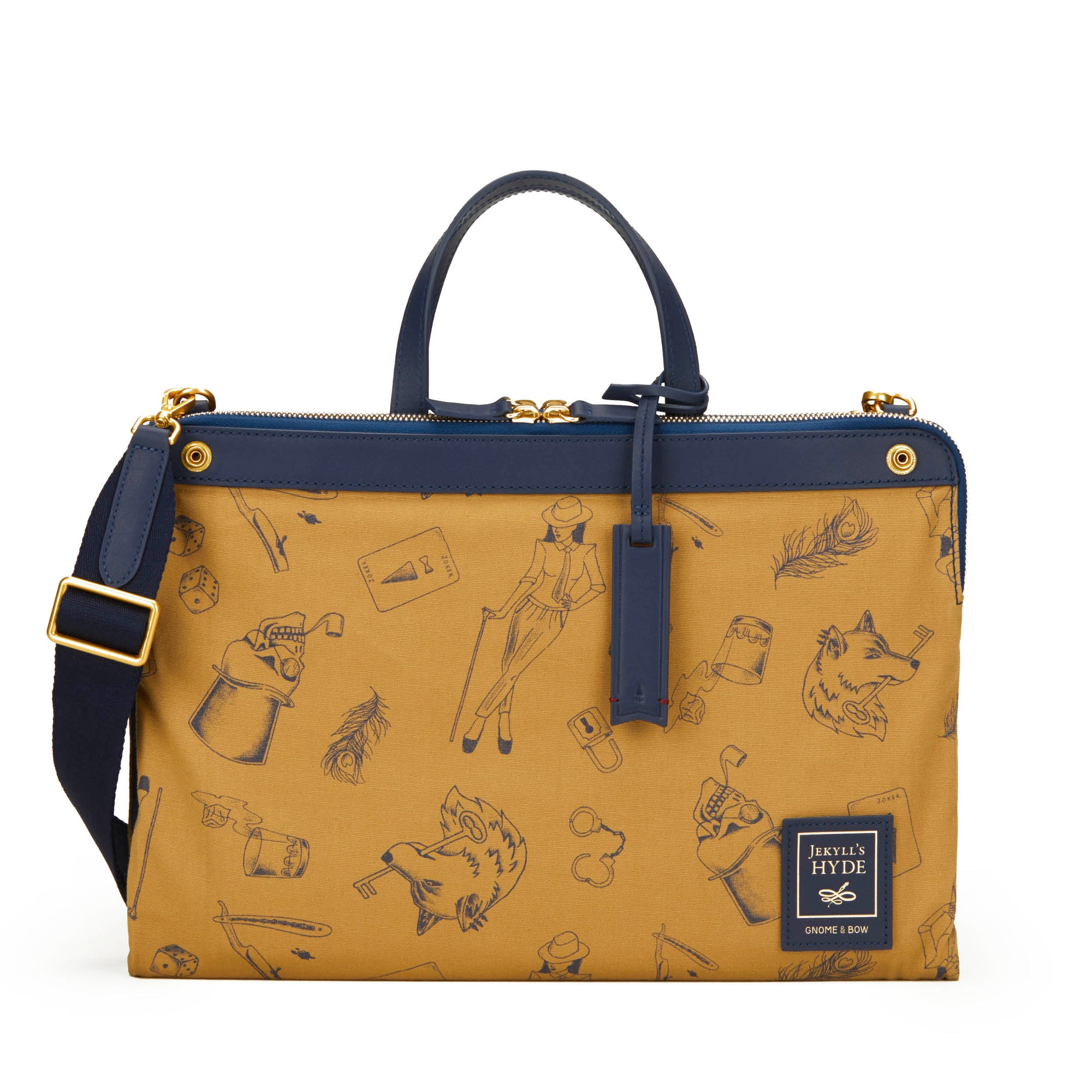 Milton Briefcase (Reversible) | Web-Exclusive - Gnome & Bow