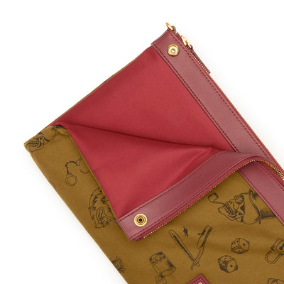 Milton Mini Crossbody Clutch (Reversible)