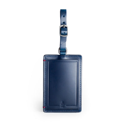 Gulliver Luggage Tag - Gnome & Bow