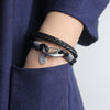 Ralph Braid Bracelet (Leather)