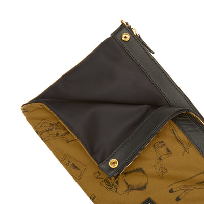 Milton Mini Crossbody Clutch (Reversible) - Gnome & Bow