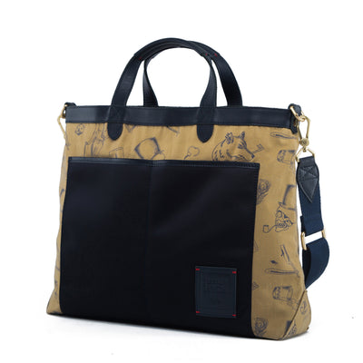 Strand Briefcase (Reversible) - Gnome & Bow