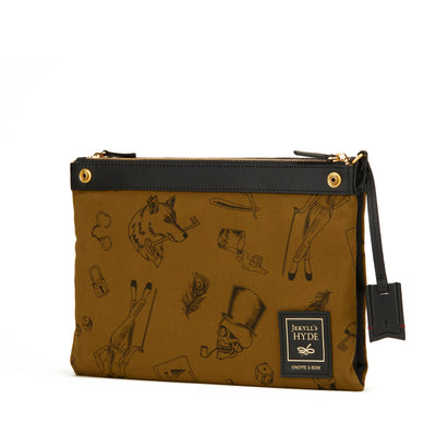 Milton Crossbody Clutch (Reversible) - Gnome & Bow