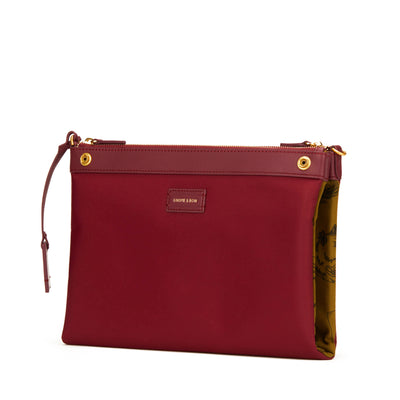 Milton Crossbody Clutch (Reversible)