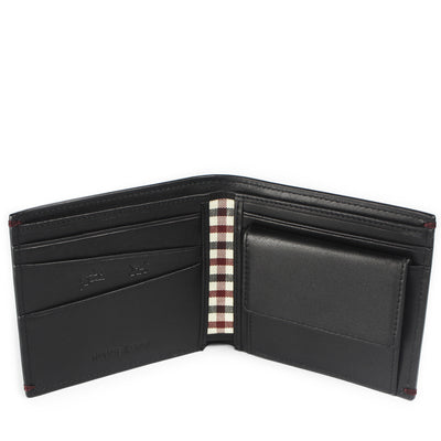 The Linden full-grain leather Coin Billfold in Onyx Black melds the dashing looks of a classic with the unrivalled functionality of a coin pouch – all in a one slick profile.