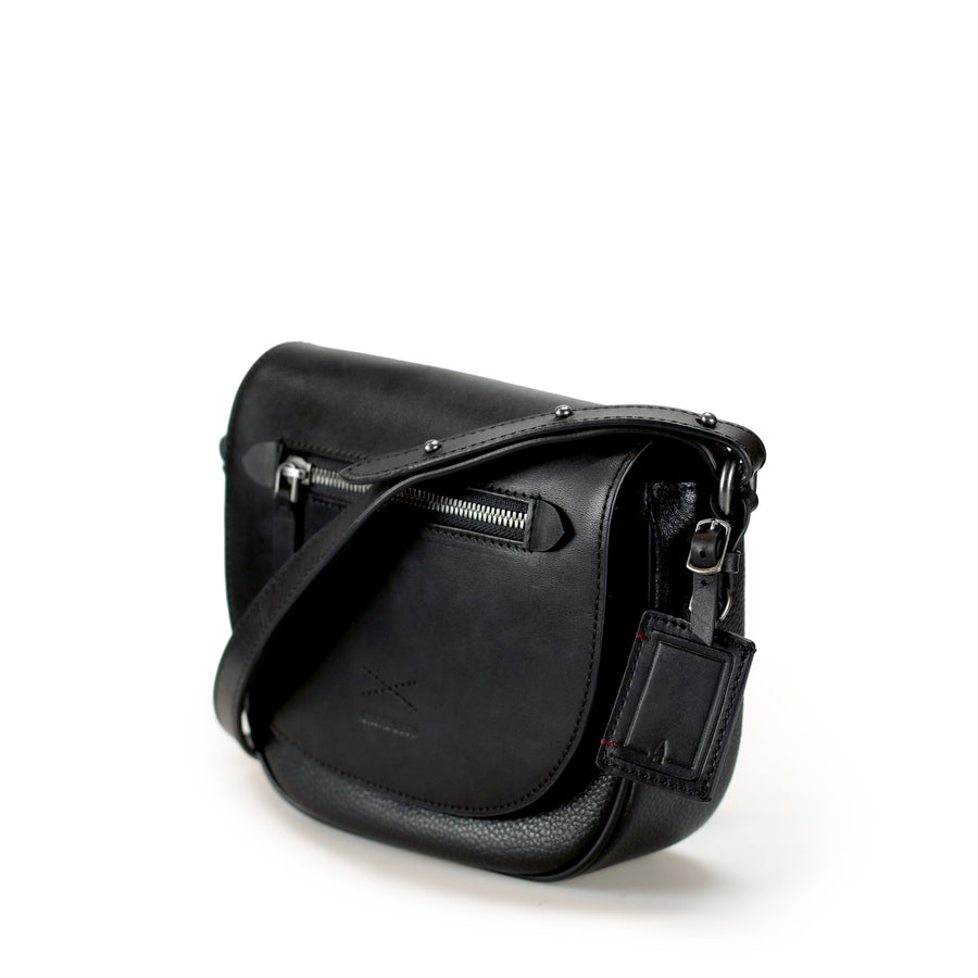 Constance Saddle Bag | Black