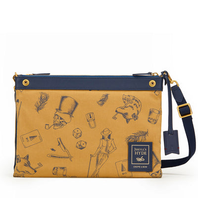 Milton Crossbody Clutch (Reversible) | Web-Exclusive - Gnome & Bow
